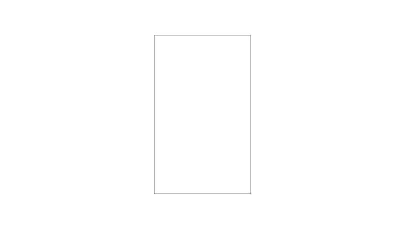 Klares Zaunelement aus 8 mm starkem ESG (Einscheibensicherheitsglas). Maß: 103 x 174 cm.