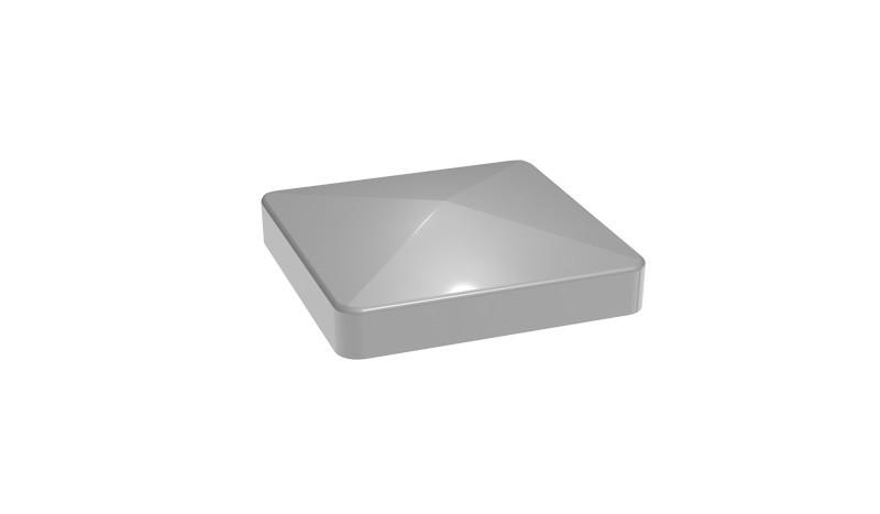 Die Alu Pfostenkappen aus hochwertigem Kunststoff sind in den Farben Silbergrau und Anthrazitgrau erhältlich.