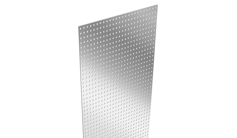 Der Aluzaun Lochblecheinsatz ist aus Aluminium gefertigt. Das Maß beträgt 180 x 15 x 0,1 cm.