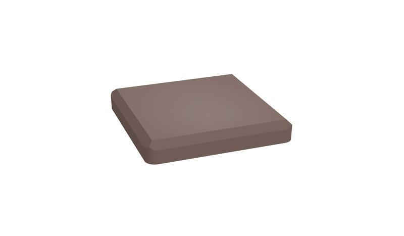 Unsere BPC Pfostenkappe ist in den Farben Anthrazit und Terra erhältlich. Das Maß beträgt 10 x 10 cm.