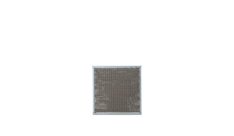 Der Cubic Design Zaun aus Polyrattan ist wiiterungsbeständig und hat das Maß 90 x 90 cm