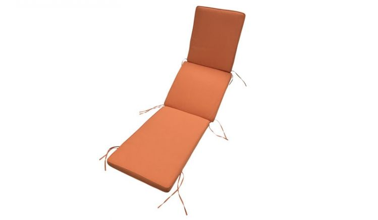 Mit einem Maß von ca. 176 x 48 cm und einer Stärke von ca. 5 cm passt die Sitzauflage für viele Gartenliegen oder Deckchairs und sorgt für die nötige Gemütlichkeit