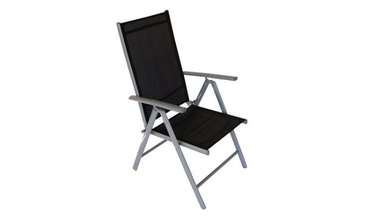 Der Klappstuhl im 4er Set bietet dank seines Textilenbezuges eine gemütliche Sitzmöglichkeit und lässt sich bei bedarf schnell verstauen.