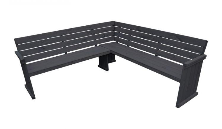 Nutzen Sie die bisher ungenutzte Ecke auf Ihrer Terrasse um sich mit der Holz Eckbank Oranienburg eine gemütliche Sitzgelegenheit zu erschaffen.