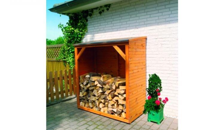 Mit einem Maß von ca. 149 x 78 x 165 cm bietet der Kaminholzschrank Ihnen reichlich Platz für Ihre Holzvorräte.