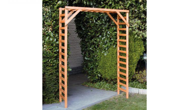 Mit einer Durchgangsbreite von ca. 125 cm wird der Rosenbogen zum tollen Eingang in Ihr Gartenparadies.