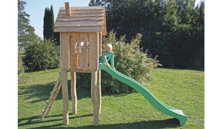Mit einer passenden Rutsche (nicht enthalten!) können Ihre Kleinen nach Belieben klettern und Rutschen