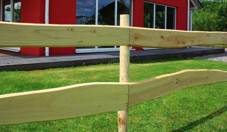 Zaunbretter Robinie im Detail:  Brettstärke: ca. 20-22 mm, naturbelassendes Robinien Holz