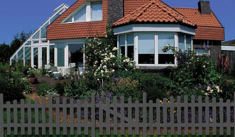 Die Gartenzäune Aluminium Preston bieten Ihnen die breite Auswahl an 19 Zaunfelden aus pflegeleichten Aluminium.