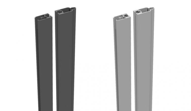 Unsere BPC Adapterleisten sind aus Aluminium gefertigt und in den Farben Anthrazitgrau und Silbergrau erhältlich. Sie dienen zur Montage von Glas-/Lochblecheinsätzen.