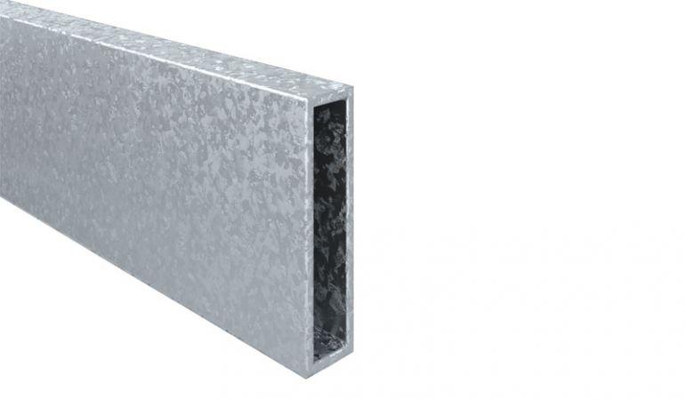 Verstärkung für die Torpfosten der Eno-Serie - 8 x 2 x 24 cm
