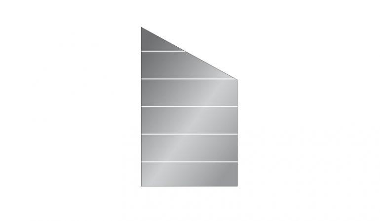Dank der Modell Glasform unserer Windschutzwand sind die meisten Raumsiturationen machbar