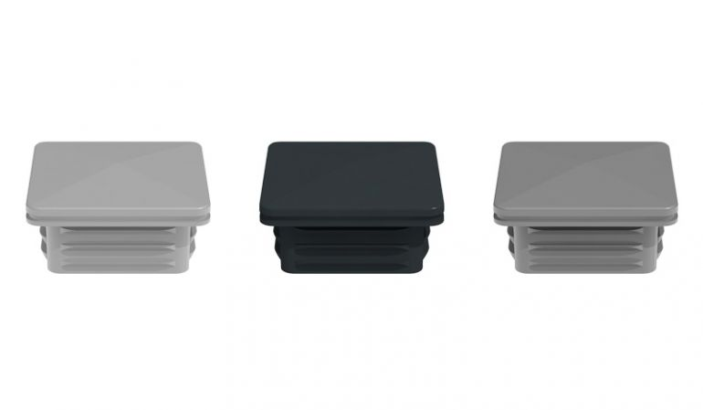 Die Pfostenkappen für unsere Universal Pfosten sind in den Farben EV1, Silbergrau und Anthrazitgrau erhältlich. Das verarbeitete Material ist Kunststoff.