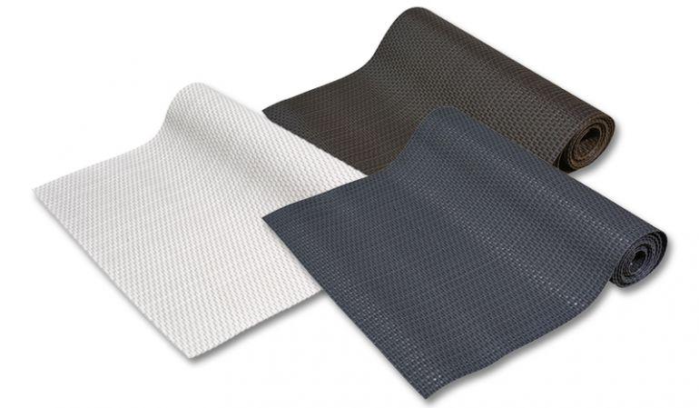 Polyrattan Sichtschutzmatten in der Farbe schwarz, braun oder weiß direkt bestellen auf meingartenversand.de.