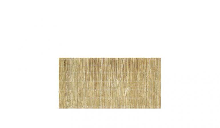 Schilfplatten in 2 cm Stärke als Sichtschutz oder zur Dämmung im Naturbau