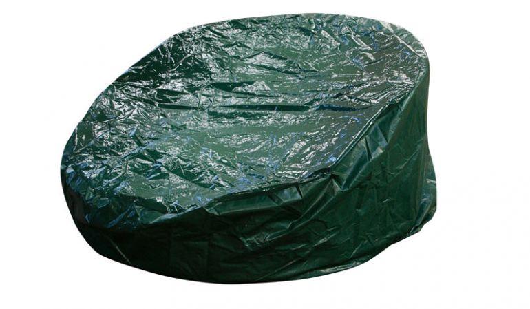 Schutzhülle für Sonneninsel Amberg grünen PE-Material.