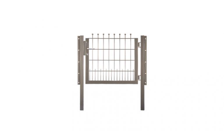 Stahlmatten Gartentor mit einer Nutzbreite von 100 cm, erhältlich in verzinkt, Grün und Anthrazit