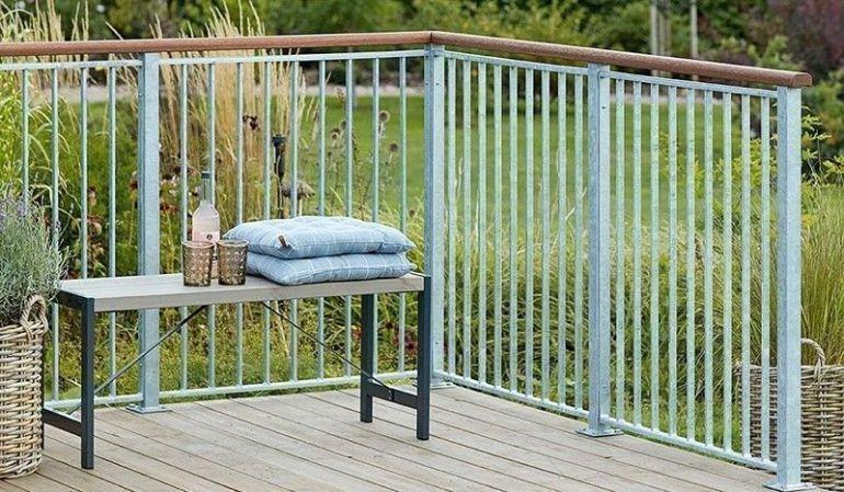 Modernes und vielseitig einsetzbares Terrassengeländer. Erhätlich in verschiedenen Ausführungen wie z.b. Glas oder WPC. Große Auswahl ✔ Rechnungskauf ✔