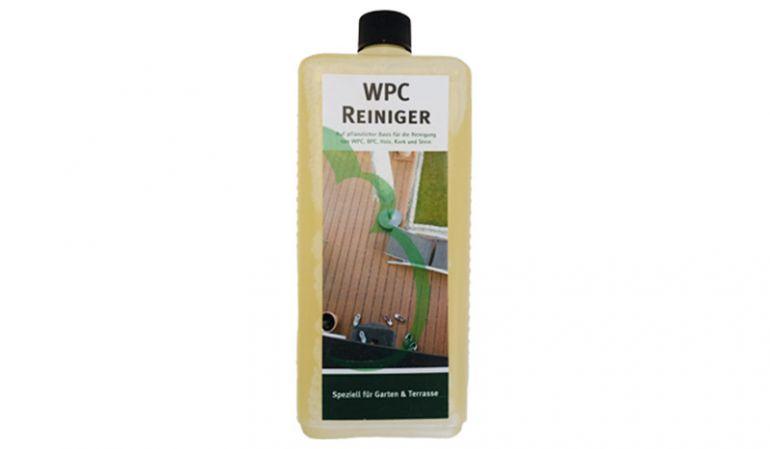 Der WPC / BPC Reiniger auf pflanzlicher Basis reinigt zuverlässig stark verschmutzte Oberflächen