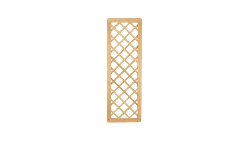 60 x 180 cm Dichtzaun Rankgitter aus sibirischer Lärche