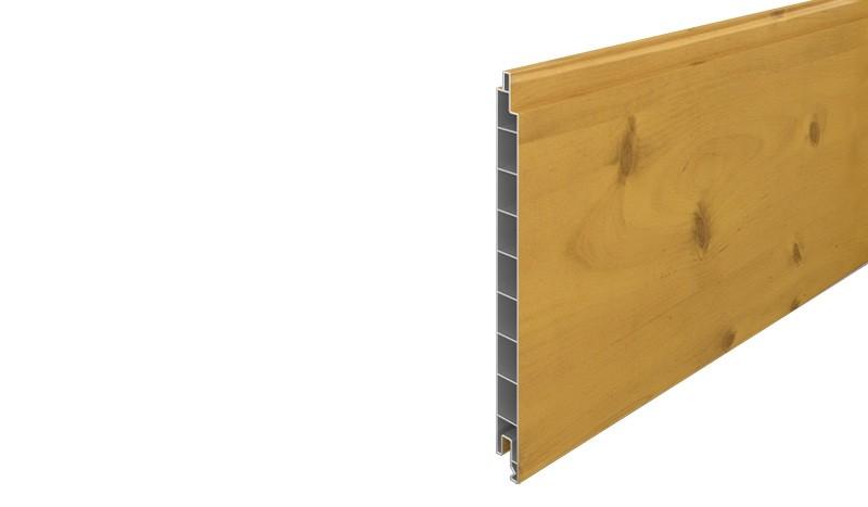 Eno-Lamelle Kunststoff, gefertigt aus UV-beständigem PVC. Maß: 1,7 x 20 x 176 cm