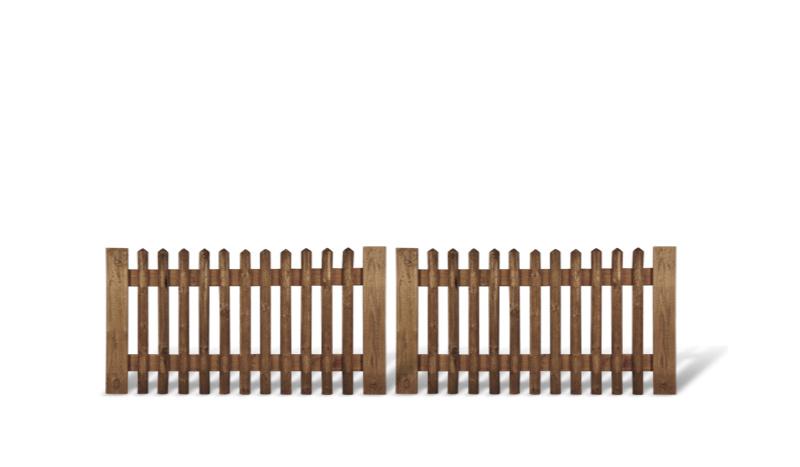 Gartentore aus Holz in 0,8m Höhe