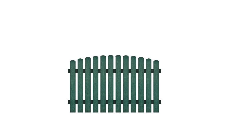 Kunststoffgartenzäune mit 10 Jahren Garantie auf UV-Beständigkeit. Vollkunstofflatten und Aluminiumquerriegel, Edelstahl verschraubt, inkl. Montageset und Bohrer