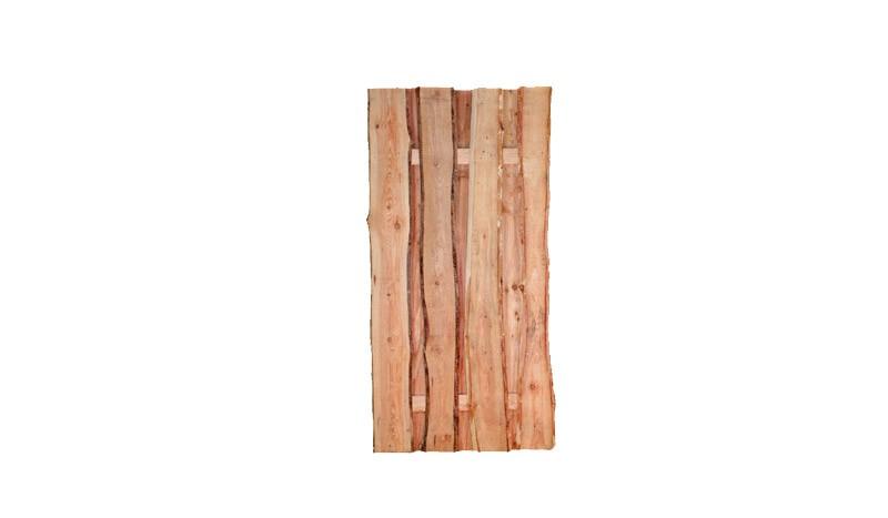 Der Holz Zaun Dresen aus Lärche mit einer Breite von 90 cm und einer Höhe von 180 cm