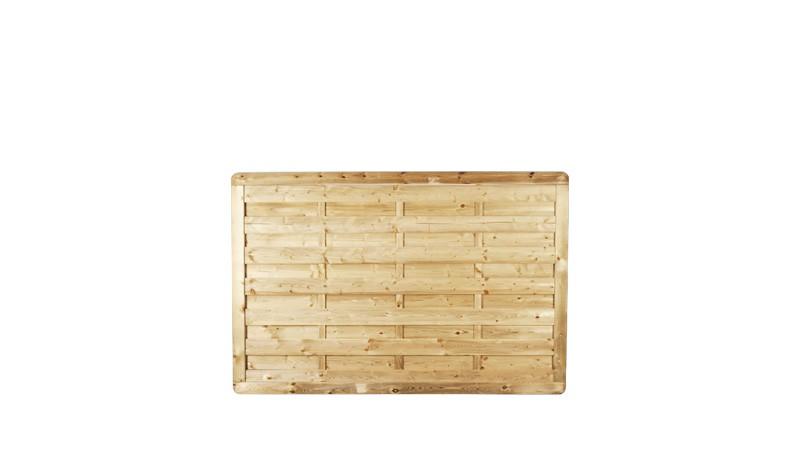 Holz Sichtschutz Gartenzaun aus druckimprägnierter Kiefer/Fichte. 180x120cm.