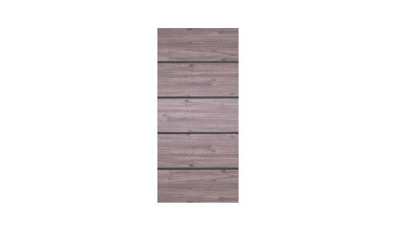 HPL Torfüllung in der Farbe Esche-Grau für ein 90 x 175 cm Tor. Passende Leisten und Rahmen seperat erhältlich