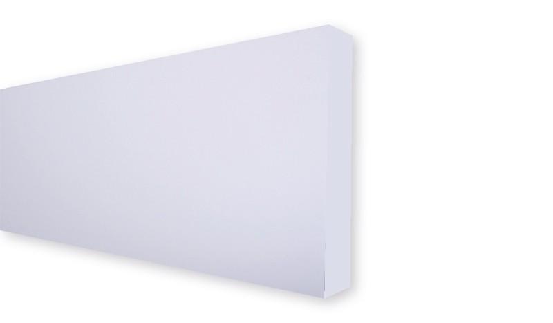 Die wetterfesten HPL-Steckzaunlamellen haben das Maß 179,2 x 32,9 x 0,6 cm. Es werden 5 Lamellen für einen 1,80 m hohen Sichtschutz benötigt. Farbe: Weiß.