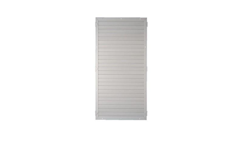 Kunststoffzäune Lightline als Sichtschutz in grau, 90 x 180cm