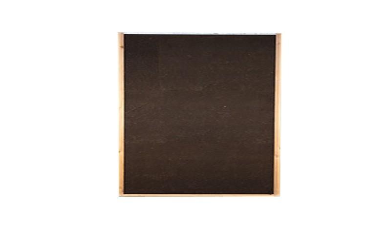 Schalldichte Lärmschutzwand aus hydrophierten Holzfasern. 180 x 180 cm