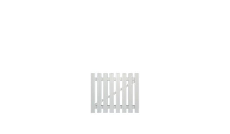 Kunststoffzaun-Tor