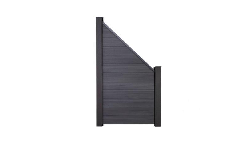 Die Abschlussecke der Maribo Serie. Ein Sichtschutz mit dem Maß: 90 x 180 auf 90cm