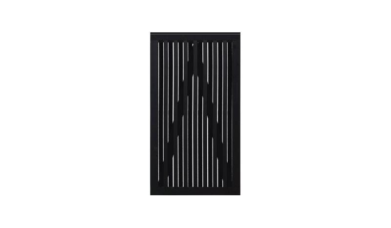 Einzeltor aus skandinavischem Nadelholz mit den Maßen 100 x 180 cm ( B x H ) und stabilem, verleimten Rahmen für lanjährigen Nutzen.