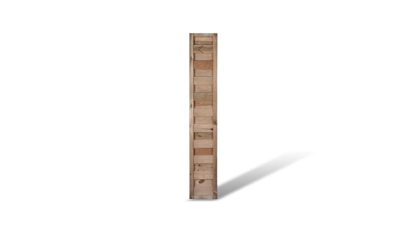 Ein sehr schmales Zwischenelement mit einer Maschenweite von ca. 10 x 10cm und einem Maß von: 30 x 180cm