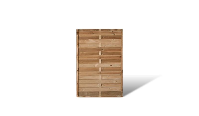 Das 100 x 150cm Element aus der Serie Berlin Massiv mit druckimprägniertem Holz