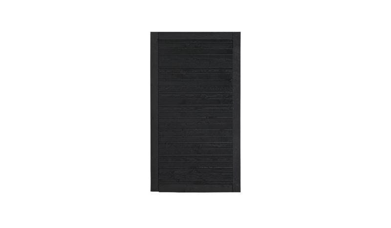 Unser Zauntor Plank in der Farbe Anthrazit mit dem Maß: 100 x 163 cm.