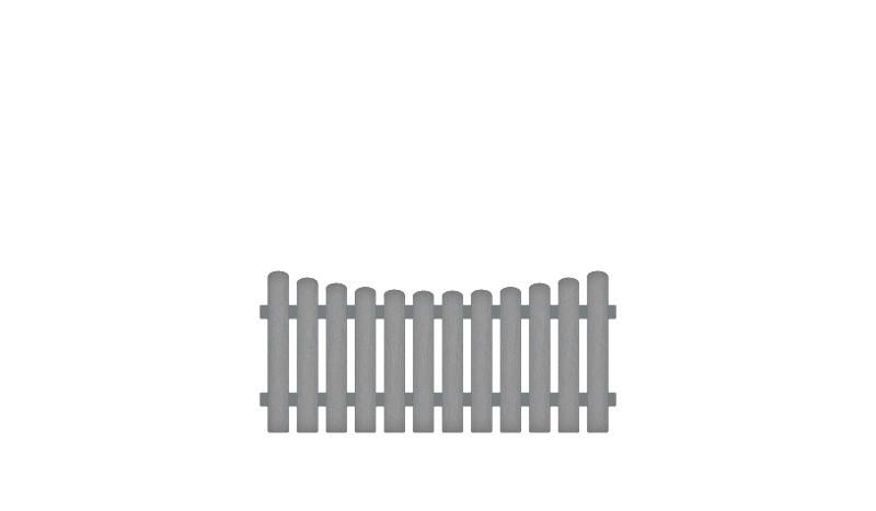 Wetterfeste Gartenzäune aus Kunststoff, gefertigt aus Vollkunstofflatten und Aluminiumquerriegel, inkl. Montageset und Bohrer