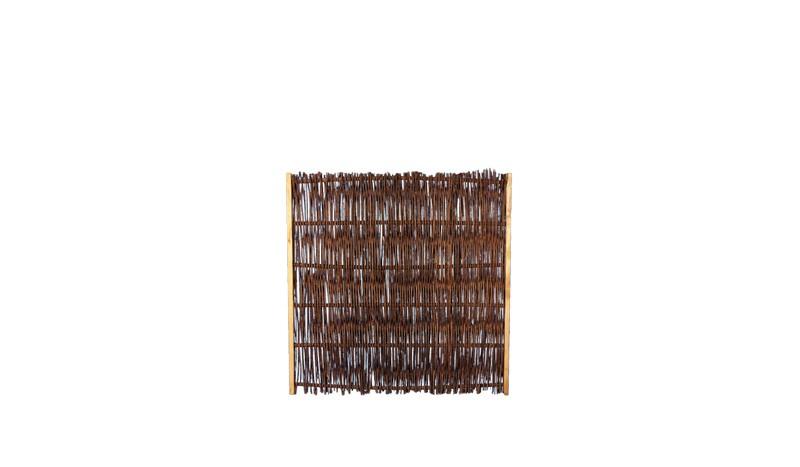Weidensichtschutz aus Kiefernholz und einem Maß von 120 x 120cm